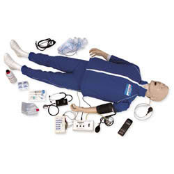 Life/form? Adult CRiSis? Auscultation Manikin with ECG Simulator - LF03966U
