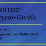 CerTest Crypto + Giardia one step combo card