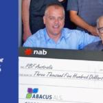 Abacus ALS raises $3,500 for the Paraplegic Benefit Fund